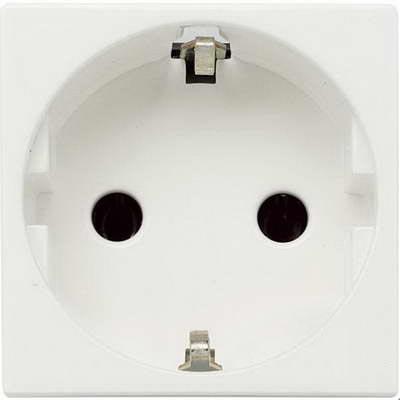 Розетка с заземлением с безвинтовыми контактами, со шторками Zenit (Белый), 2CLA228860N1101 купить по цене 434 руб. | Интернет-магазин ABB PRO